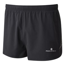 Ron Hill Men's Stride Cargo Racer Short | Black
