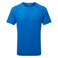 Ron Hill Men's Everyday SS Tee | Electric Blue Marl