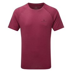 Ron Hill Men's Everyday SS Tee | Mulberry Marl