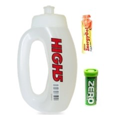 High5 Run Bottle (+ Zero + Gel) | Clear