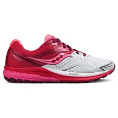Saucony Women's Ride 9 | White / Berry