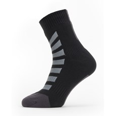 Sealskinz All Weather Ankle Sock | Black / Grey