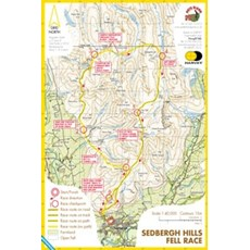 Harvey Sedbergh Hills Race Map | Mixed