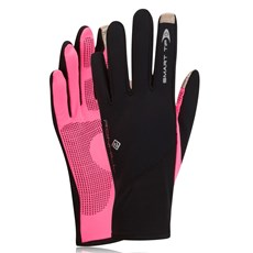 Ron Hill Unisex Sirocco Glove | Black / Fluo Pink
