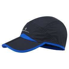 Ron Hill Unisex Split Cap | Black / Cobalt
