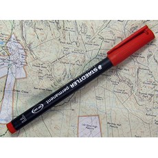 Staedtler Red Marker Pen | Red