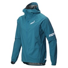 Inov-8  Men's Stormshell FZ | Blue Green