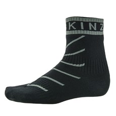 Sealskinz Unisex Super Thin Pro Ankle Sock | Black / Grey