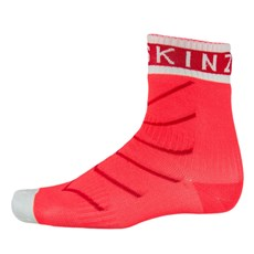 Sealskinz Super Thin Pro Ankle Sock | Coral / Red