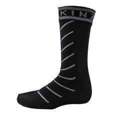 Sealskinz Unisex Super Thin Pro Mid Sock | Black / Grey