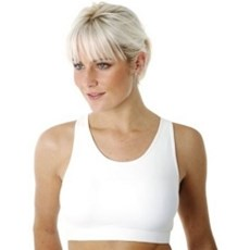 Sportjock Women's Super Bra | White