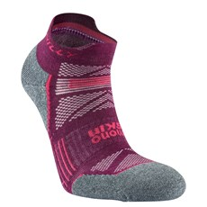Hilly Women's Supreme Socklet | Elderberry / Grey Marl