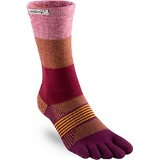 Injinji Women's Trail Midweight Crew | Pomegranate
