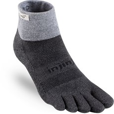 Injinji Trail Midweight Mini Crew | Granite