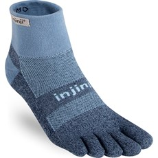 Injinji Trail Midweight Mini Crew | Powder Blue