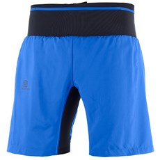 Salomon Men's Trail Runner Twin Skin Short | Nautical Blue