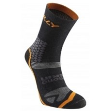 Hilly Trail Cyclo Anklet | Black / Orange