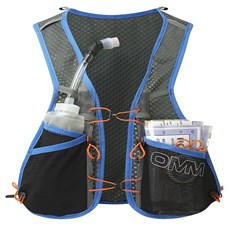OMM Trailfire Vest XL | Grey / Blue