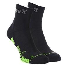 Inov-8 Trailfly Mid Sock (2 Pack) | Black / Green