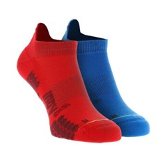 Inov-8 Trailfly Low Sock (2 Pack) | Blue / Red