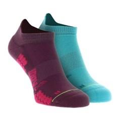 Inov-8 Trailfly Low Sock (2 Pack) | Teal / Purple