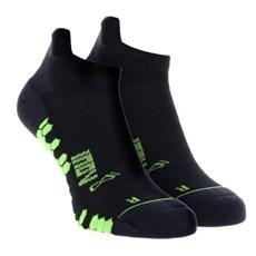 Inov-8 Trailfly Ultra Low Sock (2 Pack) | Black / Green