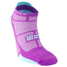 Hilly Women's Twin Skin Socklet | Purple / Aquamarine