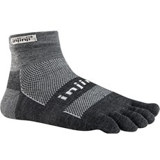 Injinji Unisex Outdoor MW Mini Crew | Charcoal
