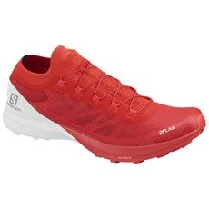 Salomon Unisex S-Lab Sense 8 | Racing Red / White