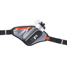 UP Ribble Hip Bottle + Holster | Black / Orange