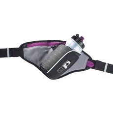 UP Ribble Hip Bottle + Holster (Purple) | Black / Purple