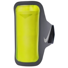 Nike Ventilated Arm Band | Dark Grey / Volt