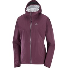 Salomon Women's Ligtning WP Jacket | Wine Tasting