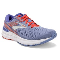 Brooks Women's Adrenaline GTS 19 | Bell Air Blue / Coral