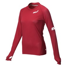 Inov-8 Women's Base LS | Dark Red