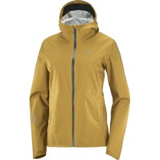 Salomon Womens Bonatti WP Jacket | Cumin / Ebony