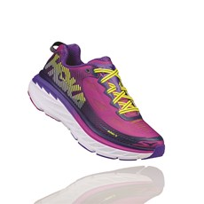 Hoka Women's Bondi 5 | Purple Cactus / Citrus