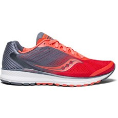 Saucony Women's Breakthru 4 | Vizi Red / Grey