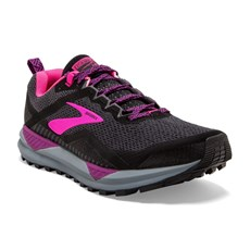 Brooks Women's Cascadia 14 | Black / Pink