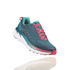 Hoka Women's Clifton 4 | Blue Coral / Ceramic