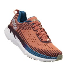 Hoka Women's Clifton 5 | Emberglow / Fig
