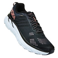 Hoka Women's Clifton 6 | Black / Rose Gold