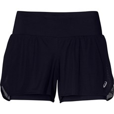 Asics Women's Cool 2 in 1 Short | Black / Mid Grey