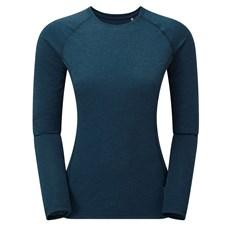 Montane Womens Dart LS Tee | Narwhal Blue