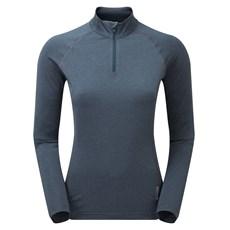Montane Womens Dart Thermo Zip Neck | Astro Blue