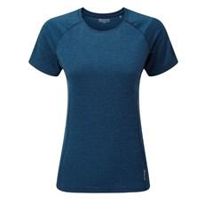 Montane Womens Dart Tee   Narwhal Blue
