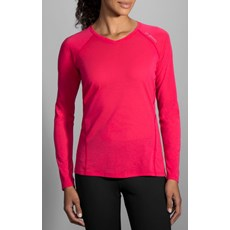 Brooks Women's Distance LS | Heather Dahlia