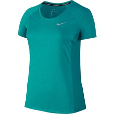 Nike Women's Miler Tee | Turbo Green Heather