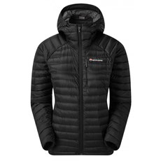Montane Women's Featherlite Down Jacket | Black / Slate