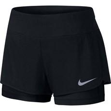Nike Women's Flex 2 in 1 Short | Black / Black